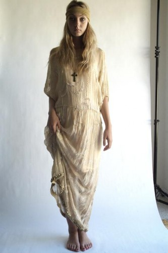 nasty gal vintage images old pics cream grecian dress vintage with turban