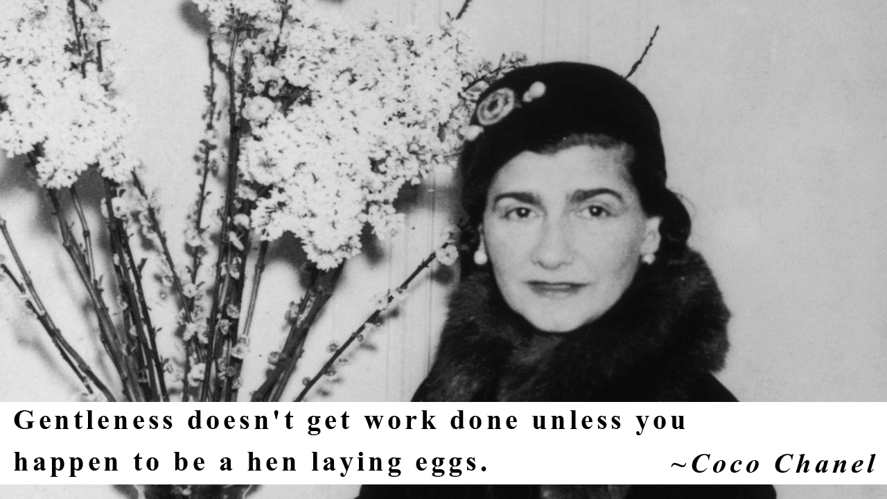 20 Picture Quotes by Coco Chanel on life, love and of course