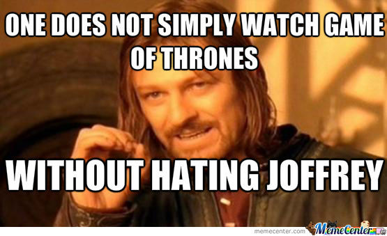 game-of-thrones meme ned stark edard stark joffrey meme one does not simply addictedtoeverything ate got funny