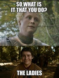 lady brian of tarth pod squier game of thrones so what is it that you do addictedtoeverything ate