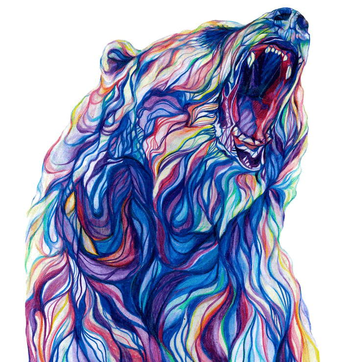BEARWEB-fox_claudine-osullivan-unreal-pencil-drawings-top-colouring-pencil-illustrations-englands-top-illustrators-cool-art-part-2-addictedtoeverything