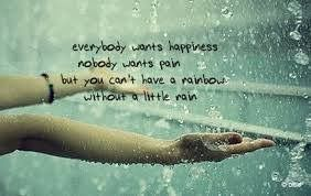you cant have a rainbow without a little rain uplifting quotes from addicted to everything .com we aim to inspire