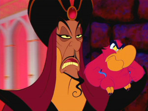 Disney characters that look like other disney characters fJafar-And-Iago- lionking and jafar from aladdin reused recycled addictedtoeverything 1