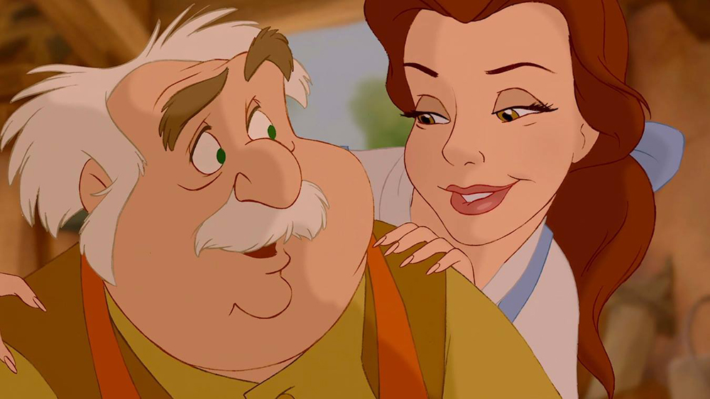 Belle From Beauty And The Beasts Dad Maurice King Cinderella