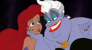 The-Little-Mermaid-image-the-little-mermaid-ursula eels hades from hercules evil disney characters addictedtoeverything 2