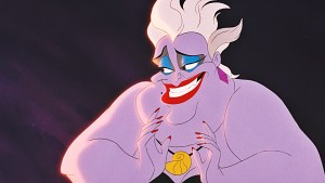 The-Little-Mermaid-image-the-little-mermaid-ursula eels hades from hercules evil disney characters addictedtoeverything