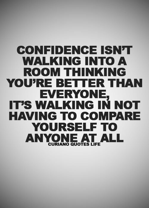 confidence in yourself and who you are best confidence quotes