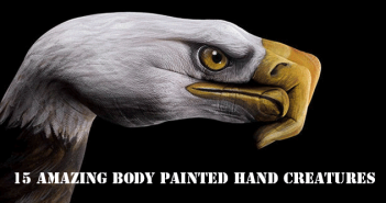 15-Amazing-Body-Painted-Hand-Creatures-giraffe-snakes-butterfly-polar-bear-how-to-bodypaint-hand-bodypaint-elephant-eagle-birds-addictedtoeverything.com-cool-bodypaint