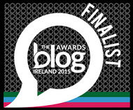 Finalist @ Blog Awards Ireland 2015