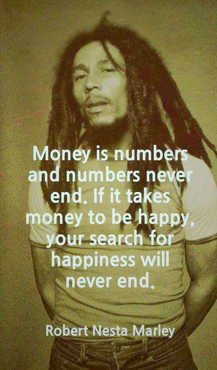 bob marley money is numbers quote addictedtoeverything.com best quotes ever best bob marley quotes