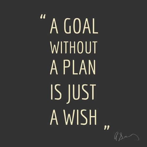 a goal without a plan quote