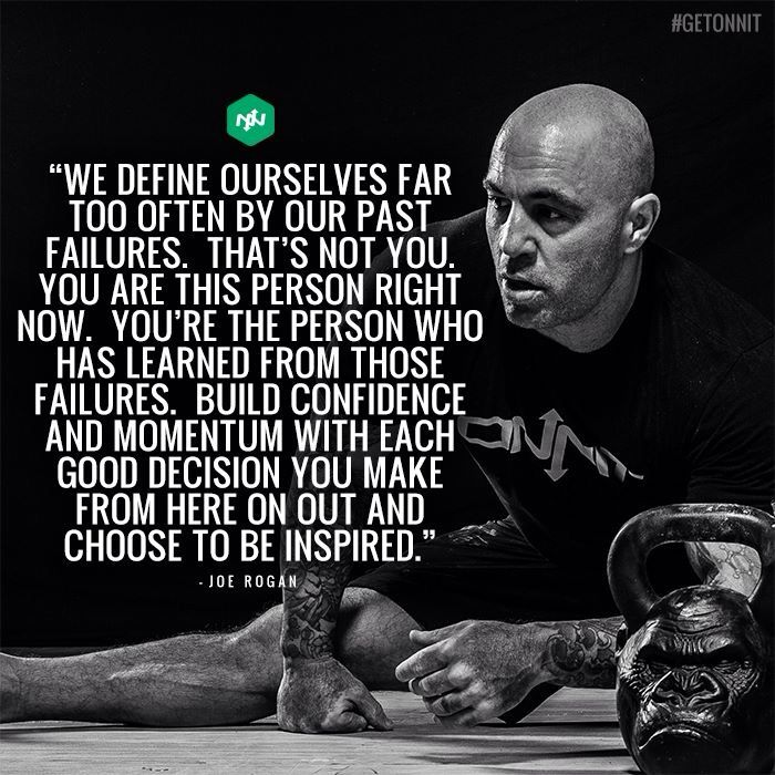 joe rogan quotes on life we define ourselves joe rogan ufc mma presenter podcast funny love wife children