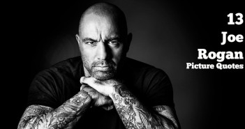 joe rogan professional image black an white